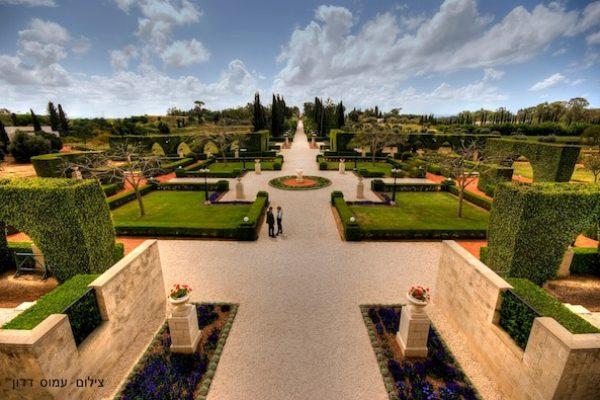 bahai gardens akko
